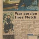 War Service Fires Fletch