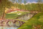 12th Hole at The Augusta National. from a photo