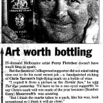 Art Worth Bottling